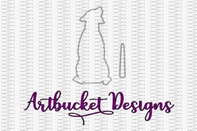 Labrador Vehicle Wiper Decal Design
