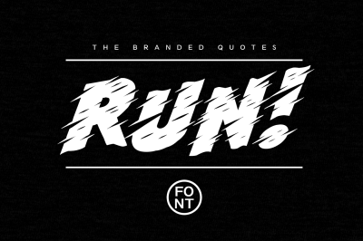 Run! Font