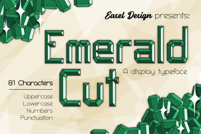 Emerald Cut Display Font