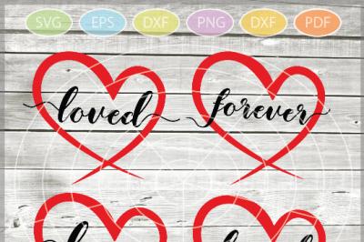Valentine svg - Loved svg Hearts svg - Love heart arrow - Valentine he