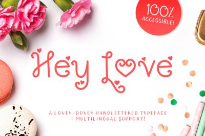Hey Love Font