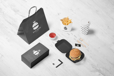 Royal Burger Logo Design