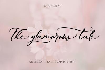 The Glamorous Tale | Elegant Font