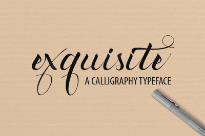Exquisite Typeface