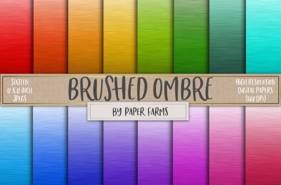 Brushed Ombre Backgrounds