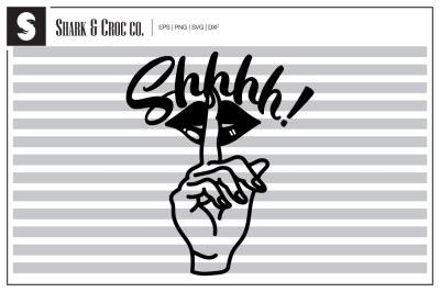 'Shhhh!' cut file