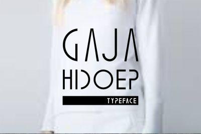 Gaja Hidoep (2 Font)