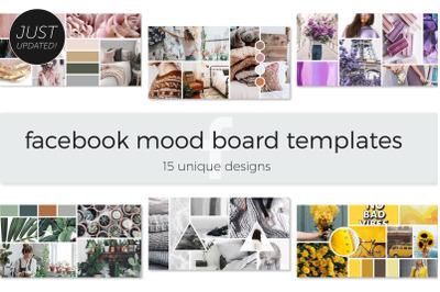 Facebook Mood Board Templates