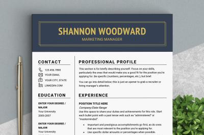 Professional RESUME template CV template Resume templates Design resum