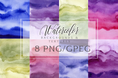 Watercolor digital paper texture Watercolor abstract backgrounds