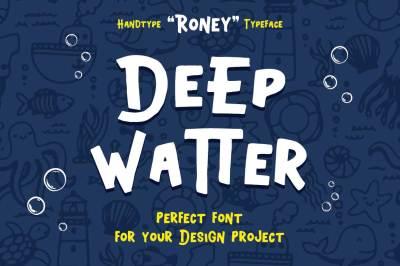 Roney Typeface