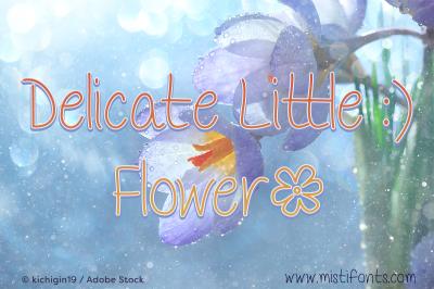 Delicate Little Flower
