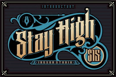 Stay High Fonts