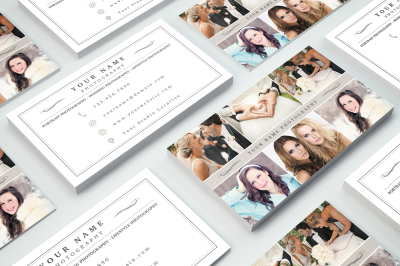 Business Card Template 008 for Photoshop