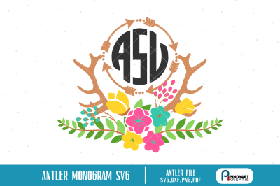 Antler Svg On All Category Thehungryjpeg Com