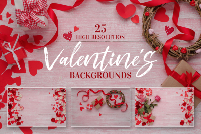 Valentines Day love celebration JPG set