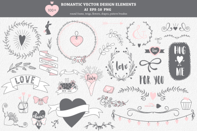 100+ romantic elements