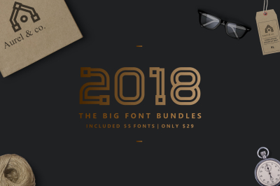 2018 | BIG FONT BUNDLES