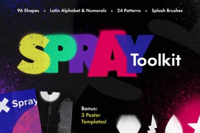 Spray Art Painter's Toolkit
