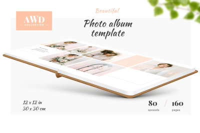 Photo Album Template - 12x12
