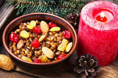 Traditional Christmas porridge