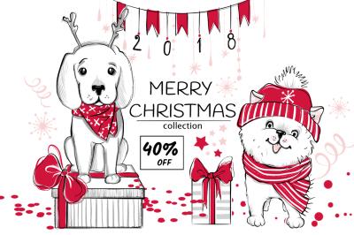 Fun Christmas animals kit 2018!