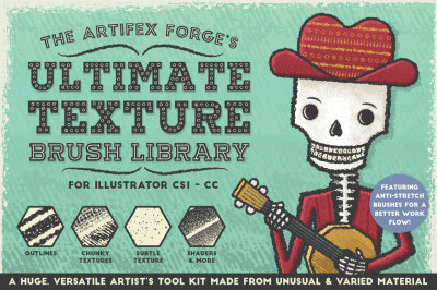The Ultimate Texture Brush Library