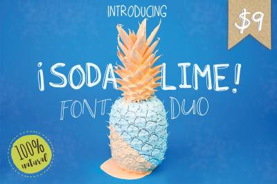 Soda Lime Font Duo