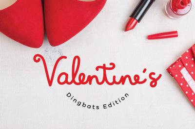 Valentines Dingbats