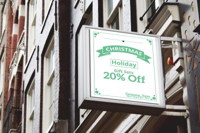 Christmas Offer Sign