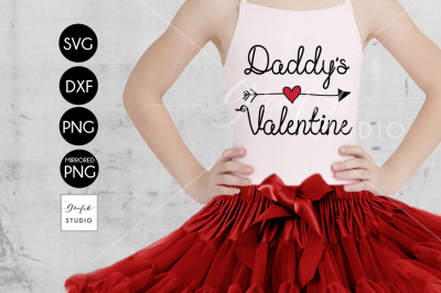 Daddys Valentine Valentines SVG file, Svg Files For Cricut
