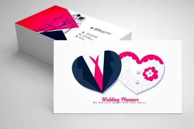 Wedding Planner's Business Card