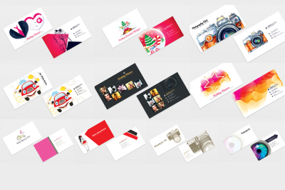 10 Professional Mix Business cards Bundle
