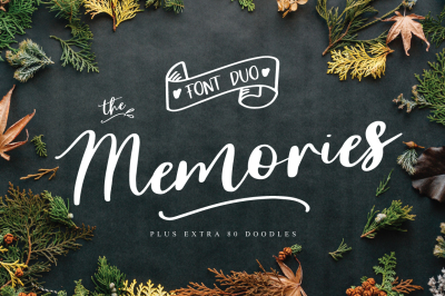 The Memories Font Duo