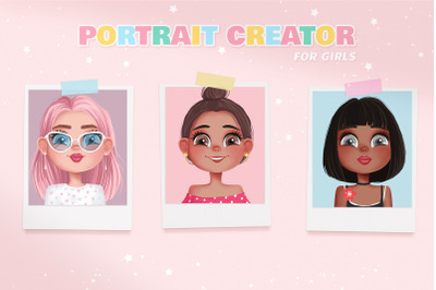 Girls portrait creator!