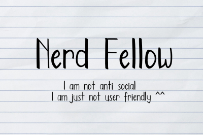 Nerd Fellow