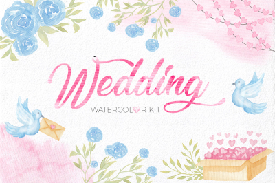 Wedding Watercolor Set