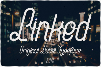 Linked Label Typeface