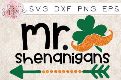Mr Shenanigans SVG DXF PNG EPS Cutting Files