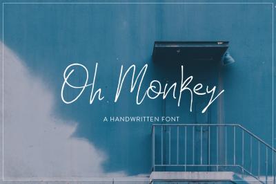 Oh Monkey Font