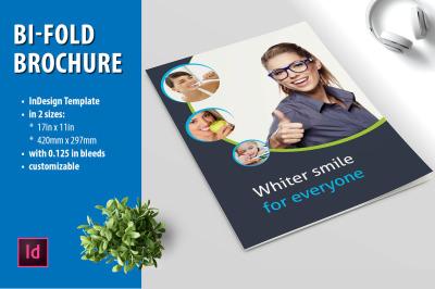 Bi-fold brochure layout