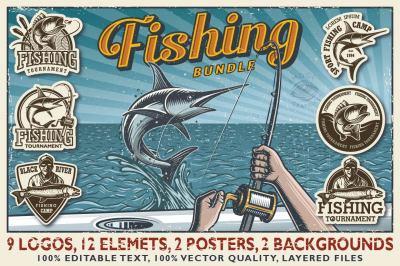 Fishing bundle. Discount inside