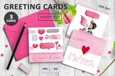 Greeting card designs