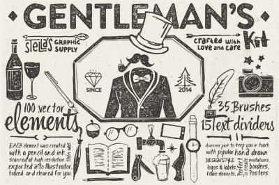 Gentleman's Graphic Kit