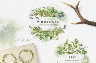 WOODLAND collection - forest wedding