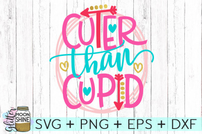 Cuter Than Cupid SVG DXF PNG EPS Cutting Files