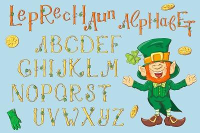 Leprechaun Alphabet – St. Patrick's Day