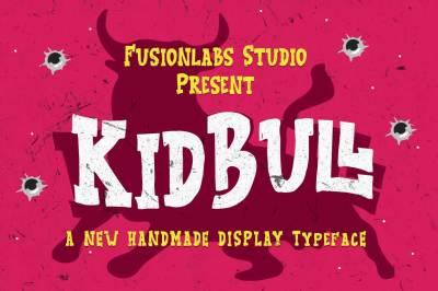 KidBull Typeface