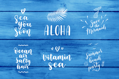 6 Sea overlays