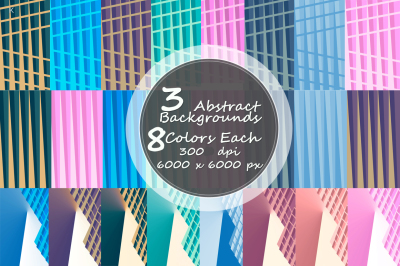 3 Abstract Backgrounds